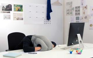 Подушка для сна в офисе на рабочем месте