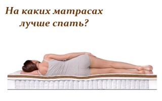 На каком матрасе лучше спать – советы экспертов