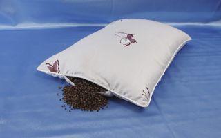 Подушка из гречневой лузги: польза и вред. отзывы покупателей