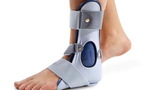 Ортез при переломе лодыжки – советы экспертов