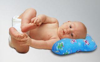 Ортопедическая подушка бабочка для новорожденных — как пользоваться