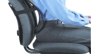 Ортопедическая спинка для стула (кресла) — как подобрать