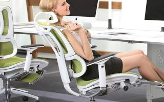 Ортопедический стул для компьютера — выбираем правильно