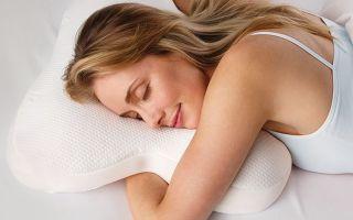 Ортопедическая подушка для сна на животе – особенности выбора