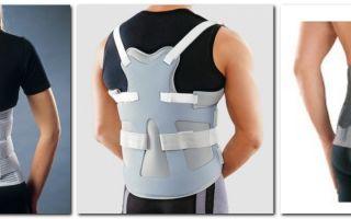 Ортопедический корсет от сутулости – поможет или нет
