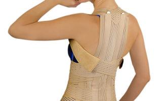 Корсет при компрессионном переломе позвоночника – выбираем