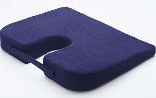 Ортопедическая подушка для копчика – особенности покупки