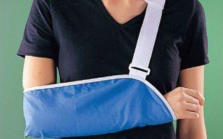 Поддерживающий бандаж для руки – косыночная повязка