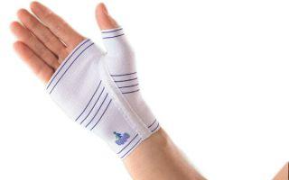 Ортез для кисти руки — выбираем бандаж на запястье