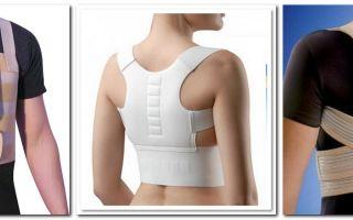 Ортопедические корсеты для грудного отдела позвоночника – советы экспертов