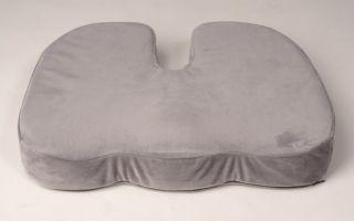Ортопедическая подушка от геморроя — стоит ли покупать