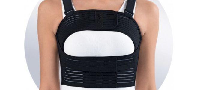 Бандаж послеоперационный на грудную клетку — мужской, женский