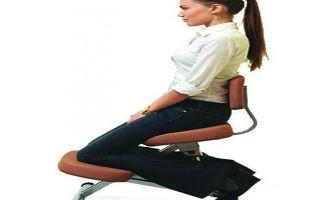 Ортопедический коленный стул с упором — польза или вред