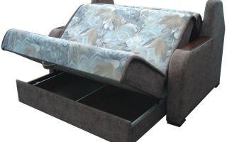 Угловой диван с ортопедическим матрасом — аккордеон, кровать