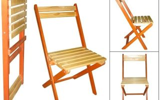Делаем складной стул своими руками: пошаговая инструкция