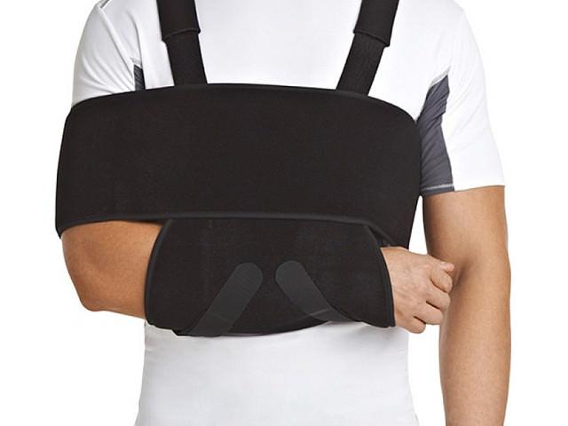 Бандаж на плечевой сустав и руку сильной степени фиксации