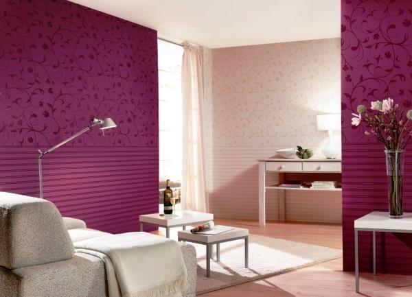 Бордовые шторы: как применить в интерьере спальни и гостиной