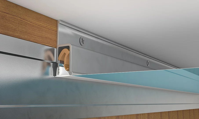 «Закладная» для встроенного шкафа купе и натяжного потолка