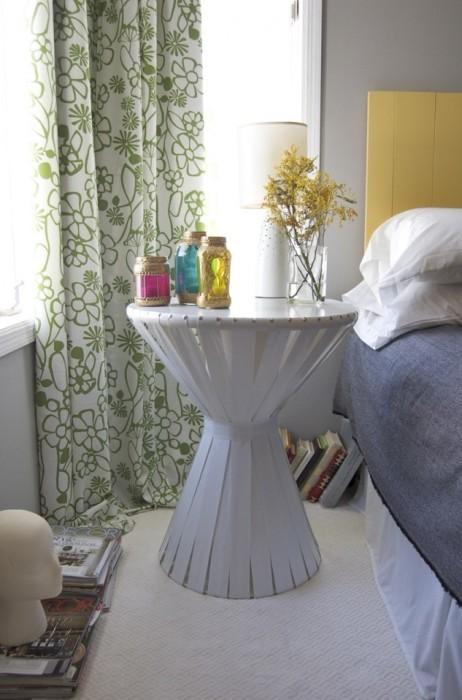 Прикроватная тумбочка своими руками: Оригинальные идеи дизайна