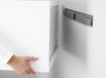 Крепление навесных кухонных шкафов на планку своими руками
