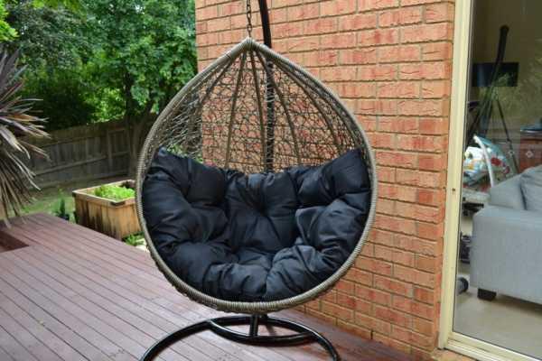 Кресло подвесное ИКЕА: виды и цены, кресло из ротанга к потолку, кресло-качели