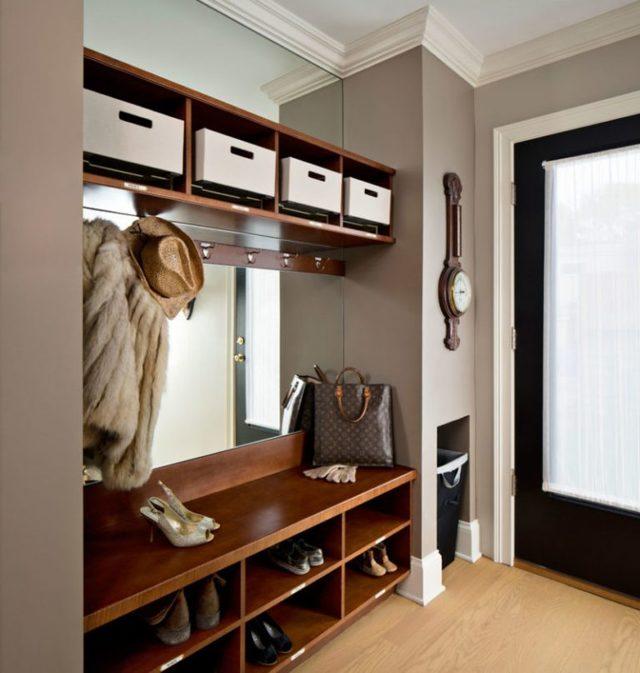 Мебель для маленькой прихожей: функциональная и красивая