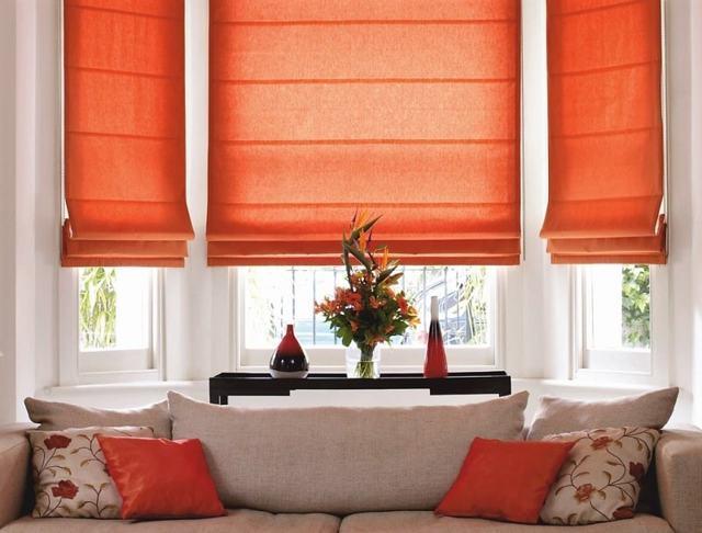 Разновидности римских штор: как выглядит, как работает, фото