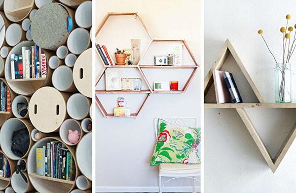 Полки на стену своими руками: установка и выбор современного дизайна