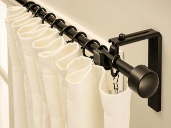 Как повесить карниз для штор на стену: комплектующие для сборки
