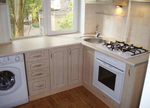 Подоконник столешница на кухне: изготовление своими руками