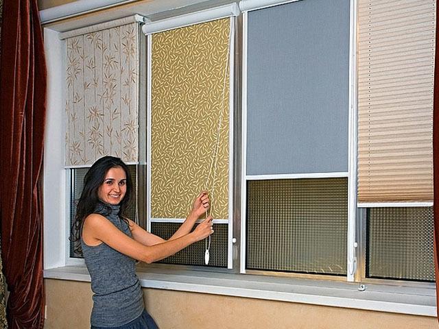 Рулонные шторы на окно: как самостоятельно определить размеры?