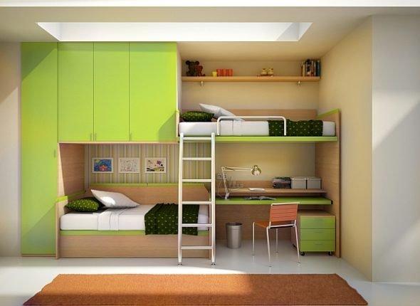 Детский уголок с кроватью и столом: выбираем подходящую модель