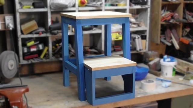 Создаем от табуретки до стула-трансформера своими руками