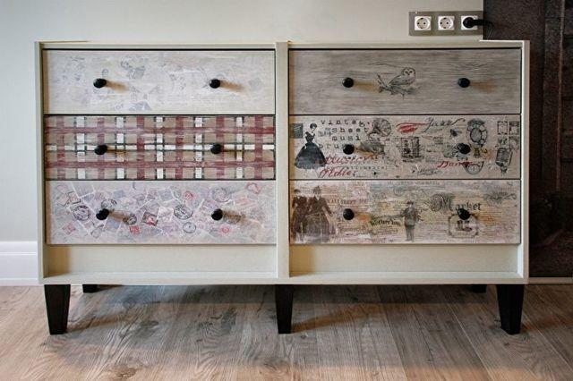 Декупаж на мебели своими руками: пошаговые инструкции с фото