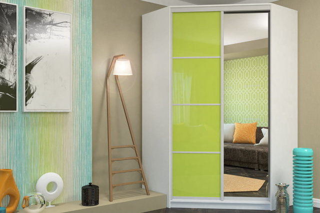 Угловой шкаф: виды, материалы, наполнение, дизайнерские решения
