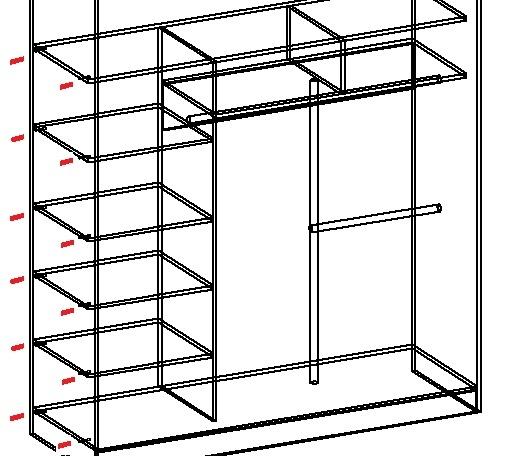 Эскиз шкафа-купе: этапы проектирования корпусной мебели