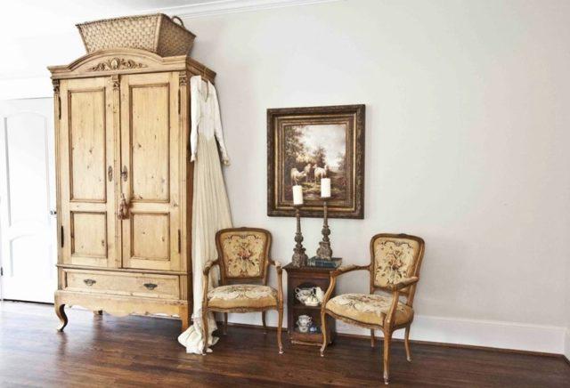 Реставрация старого шкафа своими руками: выбор стиля в 75 фото