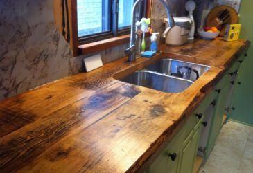 Кухонная столешница из дерева: как сделать самостоятельно?