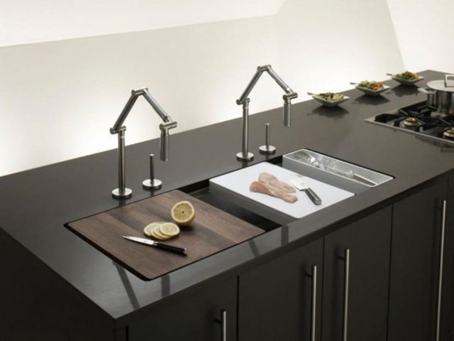 Тумба под мойку для кухни: виды, дизайн и конструкция