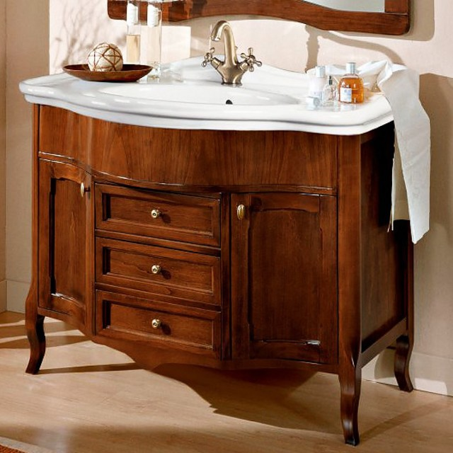 Раковина с тумбой в ванную комнату: стильное и удобное решение