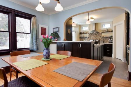 Расставить мебели в однокомнатной квартире: варианты зонирования