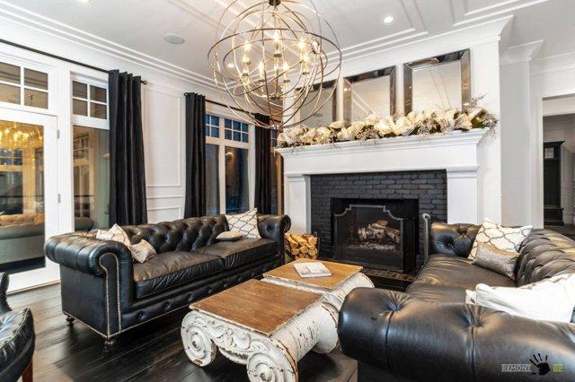 Черная мебель в интерьере: стильное решение элегантного дизайна, фото
