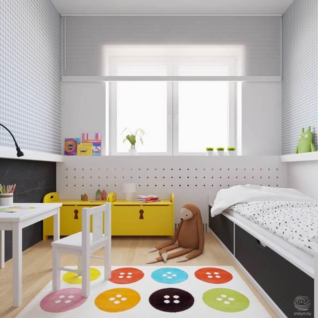 Расстановка мебели в детской: правильное обустройство комнаты