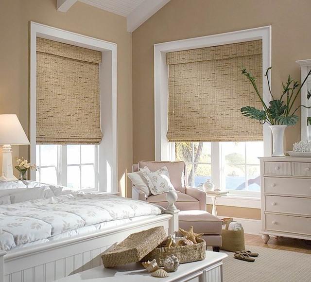 Римские шторы на окна: как повесить своими руками без сверления?