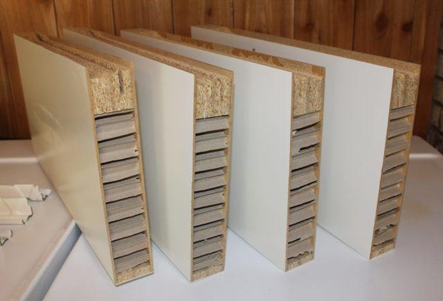 Открытые полки для кухни: виды и материалы для изготовления