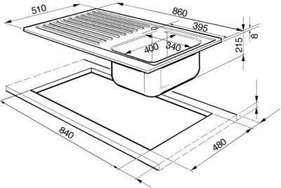 Размеры кухонных шкафов для правильной организации пространства
