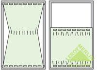 Как повесить гардину: способы крепления к стене, установка потолочной гардины