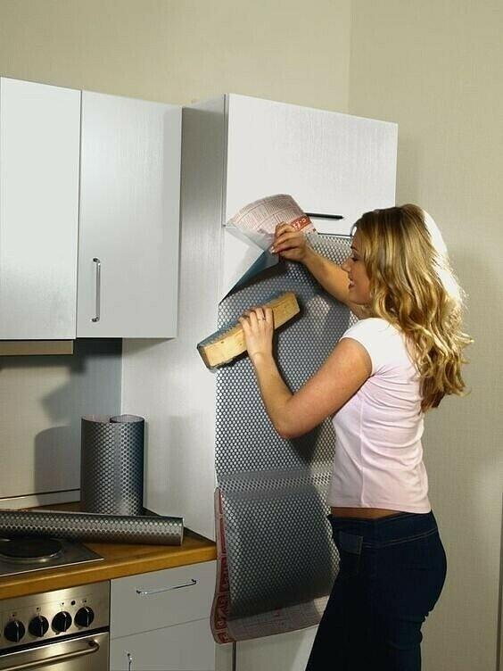 Как правильно оклеить мебель самоклеющейся пленкой: фото, видео