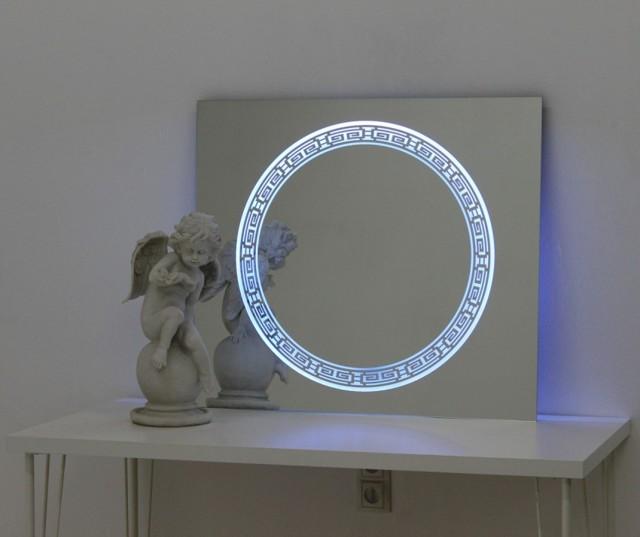 Зеркало с подсветкой своими руками: изготовление, примеры, фото