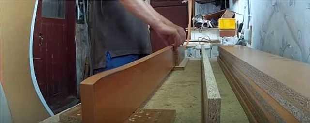 Как правильно приклеить кромку на ЛДСП столешницу своими руками
